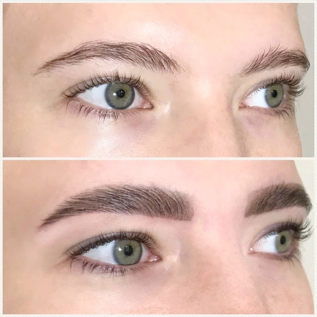 Powder eyebrows (Manual)